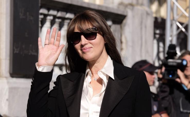 Monica Bellucci pisa Donostia