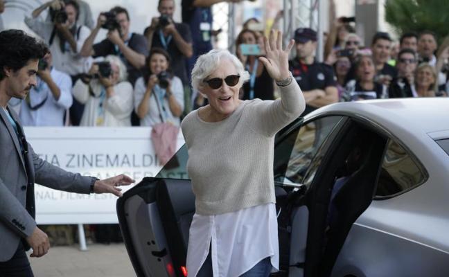 Glenn Close vuelve a San Sebastián