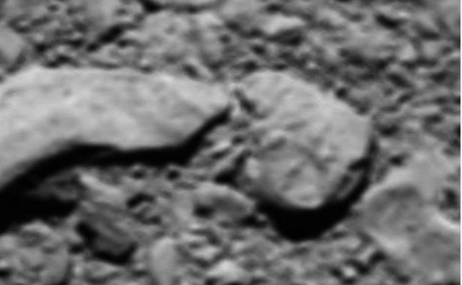 La ESA reconstruye la última imagen de la nave Rosetta