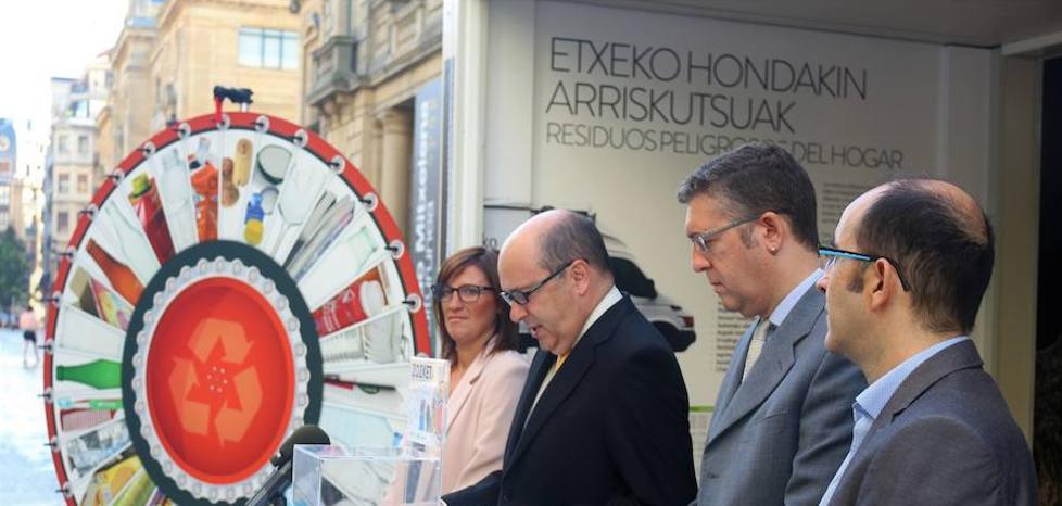 Birziklik, nueva campaña para aumentar el 46% de reciclaje en San Markos