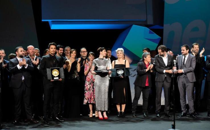 La gala de clausura del 65 Festival de Cine de San Sebastián