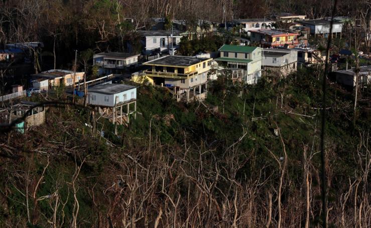 La huella del huracán María en Puerto Rico, dos semanas después