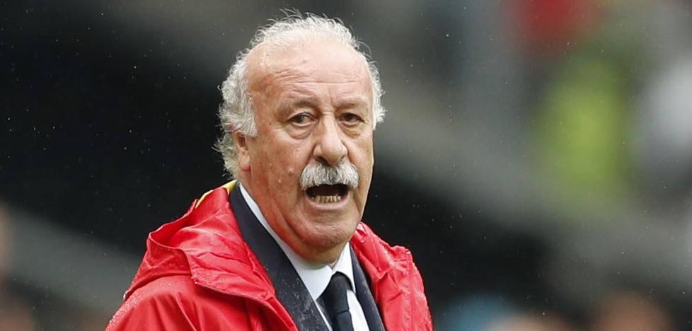 Del Bosque, sobre Piqué: «Lo que haga Lopetegi será lo mejor»