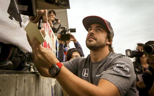 Alonso se despide de la casa de Honda
