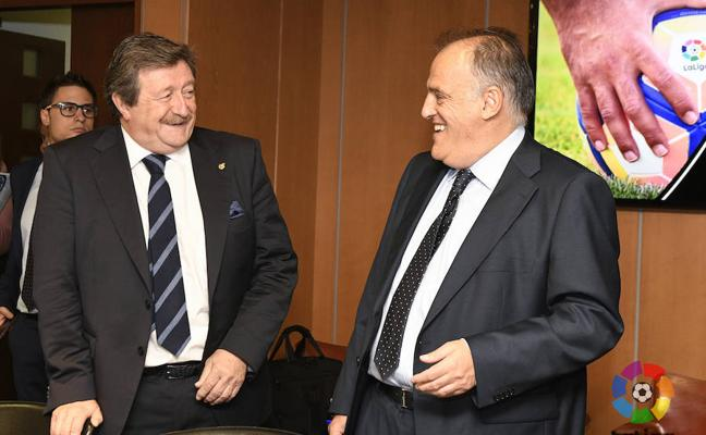 LaLiga y la FEF acercan posturas en ausencia de Villar