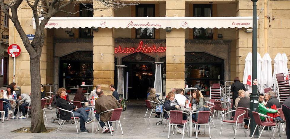 705 terrazas hosteleras en Donostia