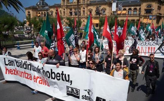 ELA, LAB y Steilas rechazan la última oferta de Educación y mantienen las cinco huelgas