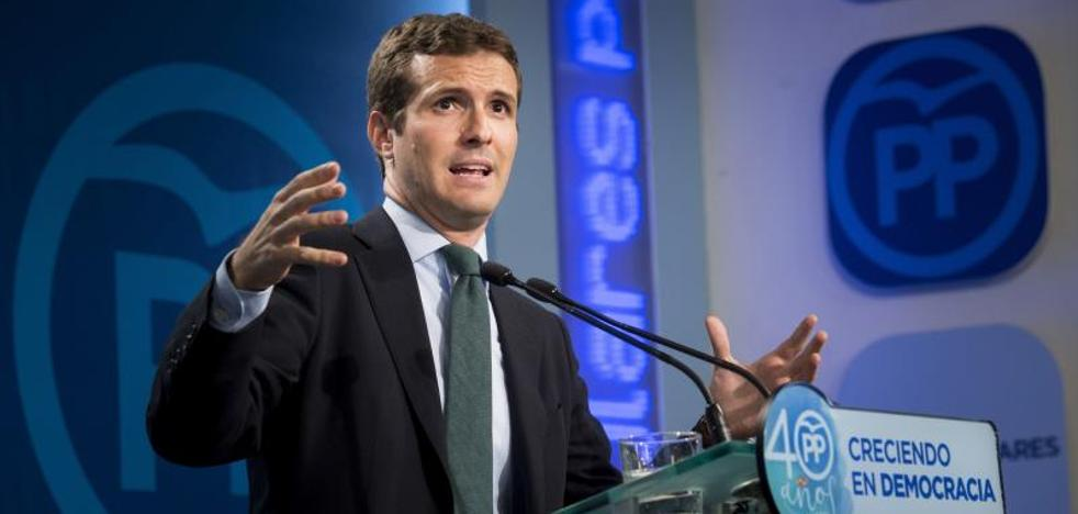 El PP advierte a Puigdemont de que puede acabar como Companys