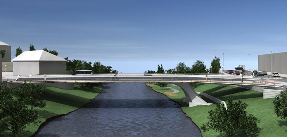 Aprobada la reforma del puente de Espartxo en Txomin Enea