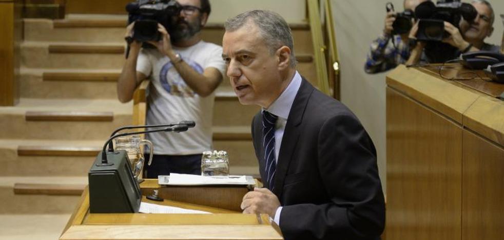 Urkullu desea que la «oportunidad al diálogo» de Puigdemont sea aprovechada