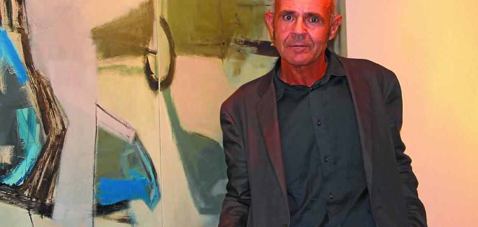 José Ángel Yanci vuelve a Biteri con obras más sutiles y con menos color