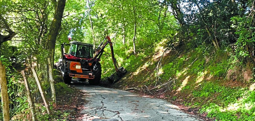 Arreglos en los caminos rurales
