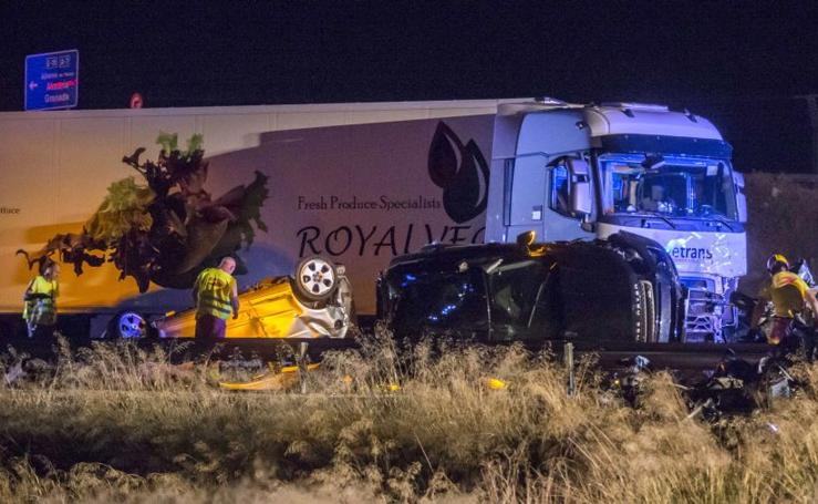 Trágico accidente en Murcia