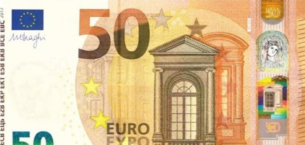 La Ertzaintza alerta de un aumento de billetes de 50 euros falsos por todo Euskadi