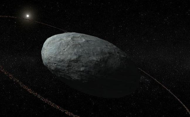 Los planetas enanos también pueden tener un anillo a su alrededor