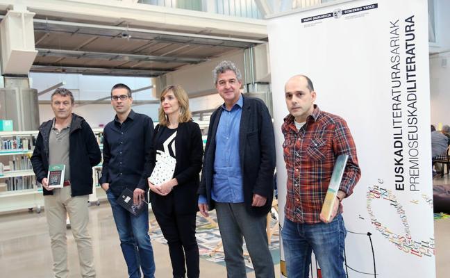 Leire Bilbao y Ander Izagirre, Premios Euskadi de Literatura 2017