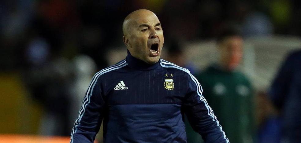 Sampaoli: «El fútbol, el Mundial, no se podían quedar sin Messi»