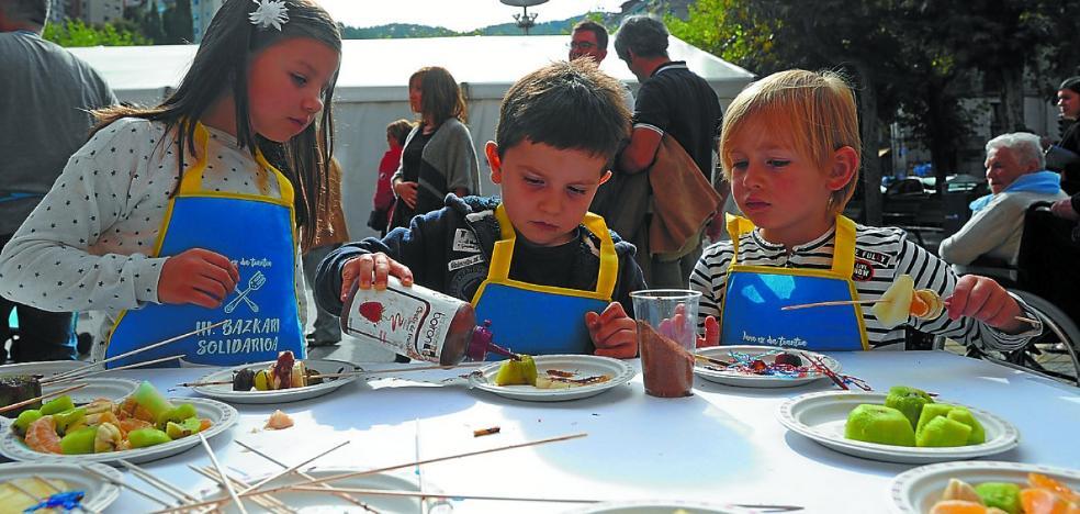 La cuarta comida solidaria 'Jana ez da txantxa' llega el 21 de octubre