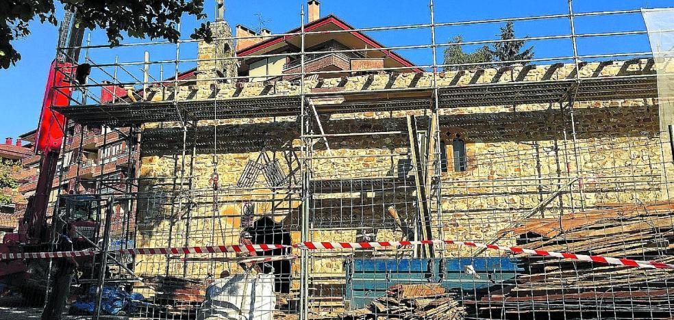 La ermita de San Lorenzo estrenará tejado y refuerza la estructura del coro
