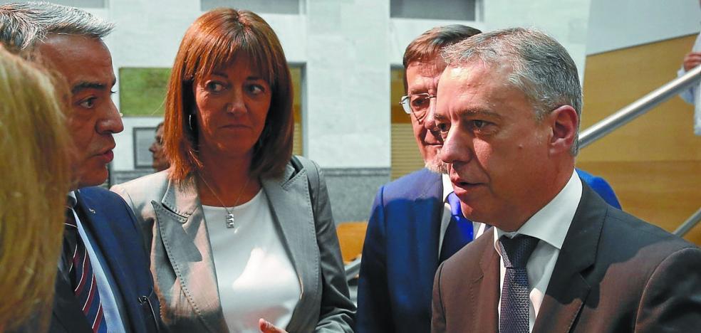 Urkullu y De Andrés chocan ante los jueces