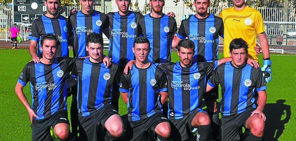 El Ostadar de Regional Preferente logró su primera victoria (3-0) ante Hernani B
