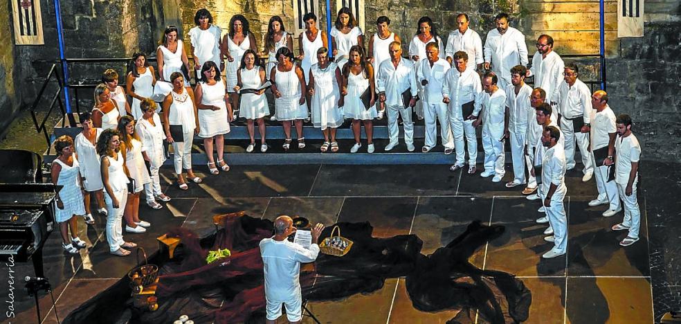Eskifaia Abesbatza ofrece dos conciertos en Madrid aprovechando el puente