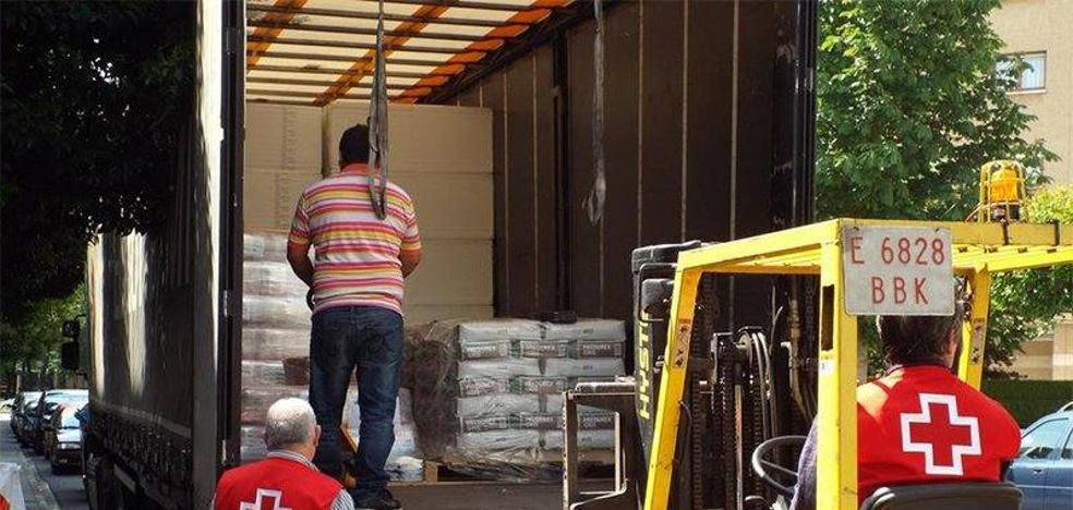 Cruz Roja Gipuzkoa distribuirá 139.000 kilos de alimentos a 6.000 personas