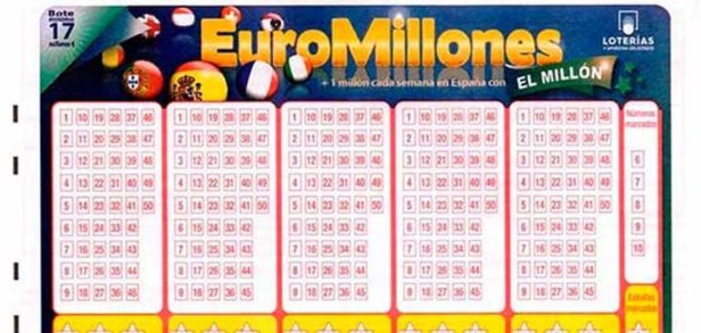 Euromillones viernes: resultados del sorteo del 13 de octubre