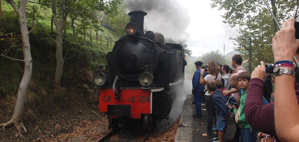 El Museo Vasco del Ferrocarril celebra su XXIII aniversario