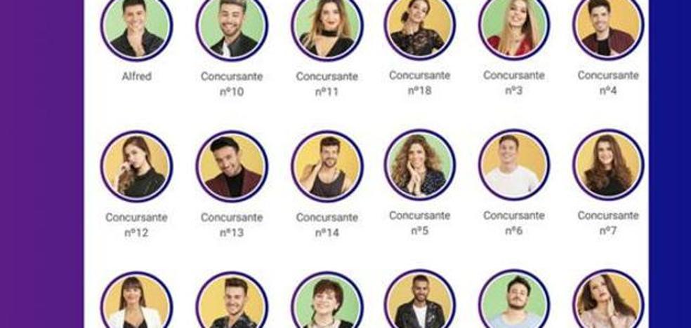 TVE revela por error los 18 concursantes de 'OT 2017'
