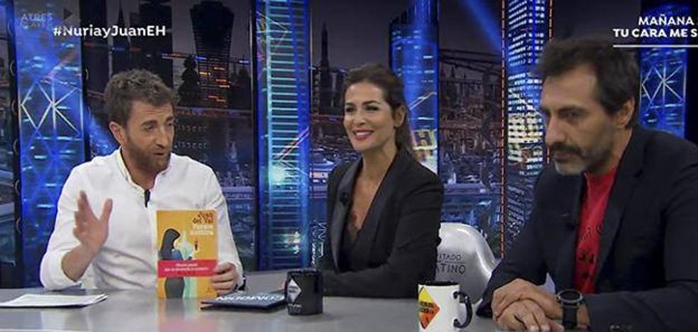 La confesión de Nuria Roca en 'El Hormiguero': «Tenemos una relación abierta»