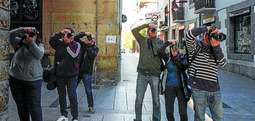 Hernani se llenó de fotógrafos en una nueva edición del rally