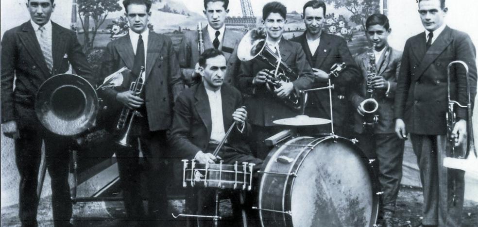 La fundación de la Banda de Música de Legazpi