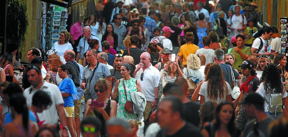 Gipuzkoa ha aumentado un 50% el número de turistas en diez años