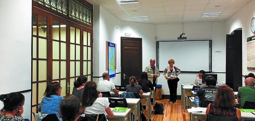 Más de cien alumnos en el nuevo curso de Gaztanenea Formakuntza Zentroa