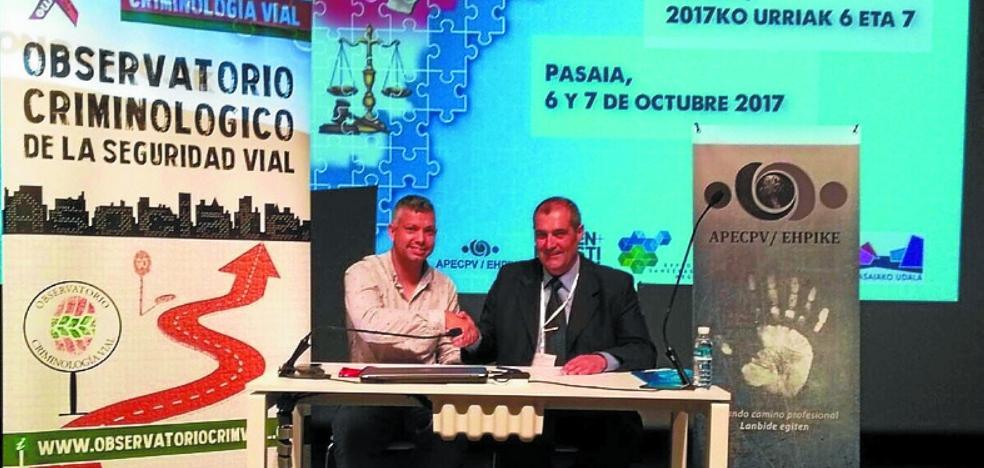 La firma de un convenio cierra el congreso de criminología