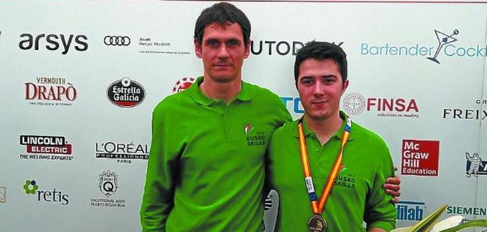 Iker Borde será el representante de La Salle Berrozpe en el WorldSkills
