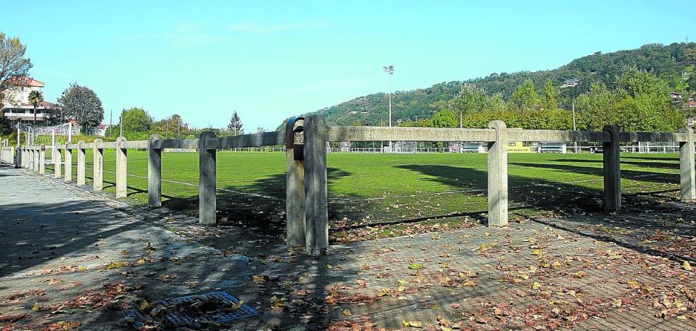 Denuncian el peligro de la valla de Matigotxategi