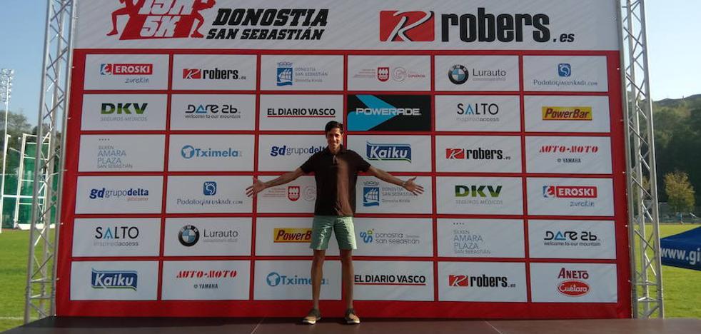 Pedro Nimo y Oubaddi, favoritos mañana en los 15 kilómetros de San Sebastián