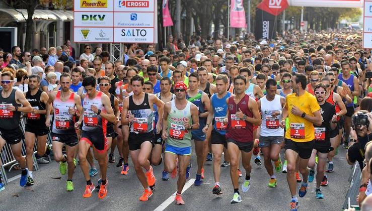 El Hassan Oubaddi y Elena Silvestre vencen en la Clásica de 15 km