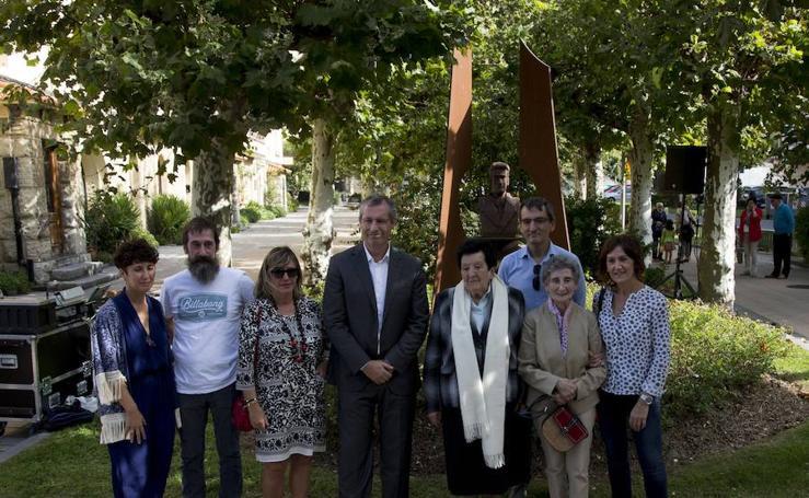 Homenaje en Deba a los alcaldes y concejales guipuzcoanos fusilados entre 1936 y 1938