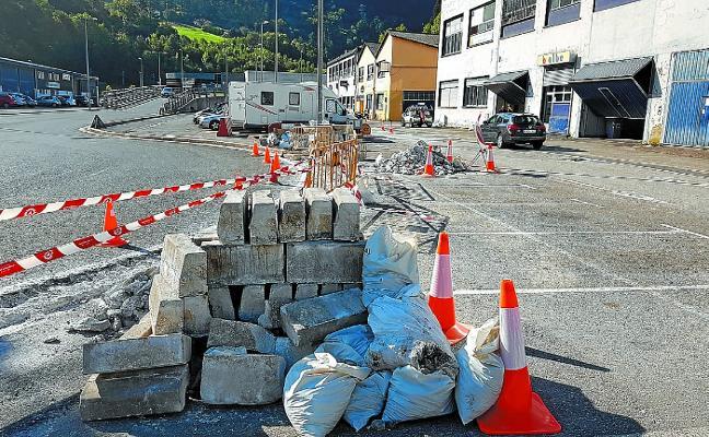 Mañana comienza el asfaltado de la segunda fase de las obras de Olasope