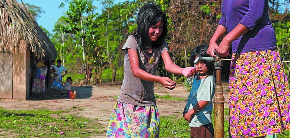 El reto principal actual: agua potable para la comunidad chimán