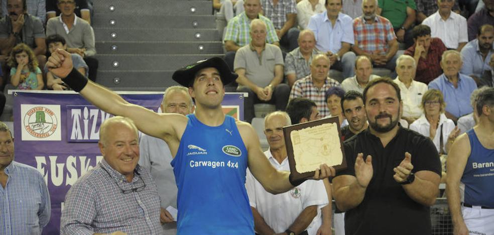 Atutxa sufre con Vicente para ganar su cuarta txapela