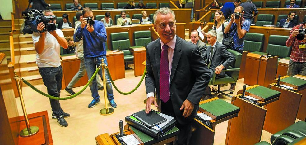 El Gobierno Vasco y los partidos esperan en tensión el desenlace sobre Cataluña