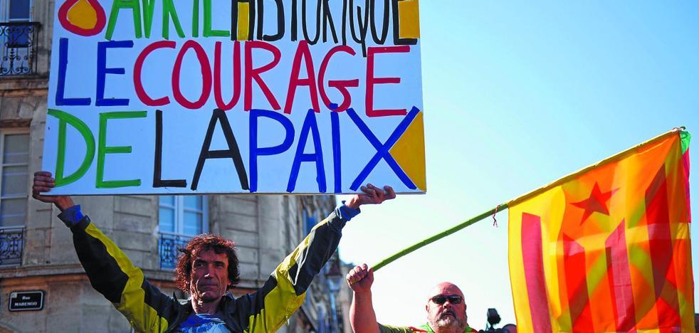 ETA ve en el desafío catalán un argumento añadido para justificar el cierre de la persiana