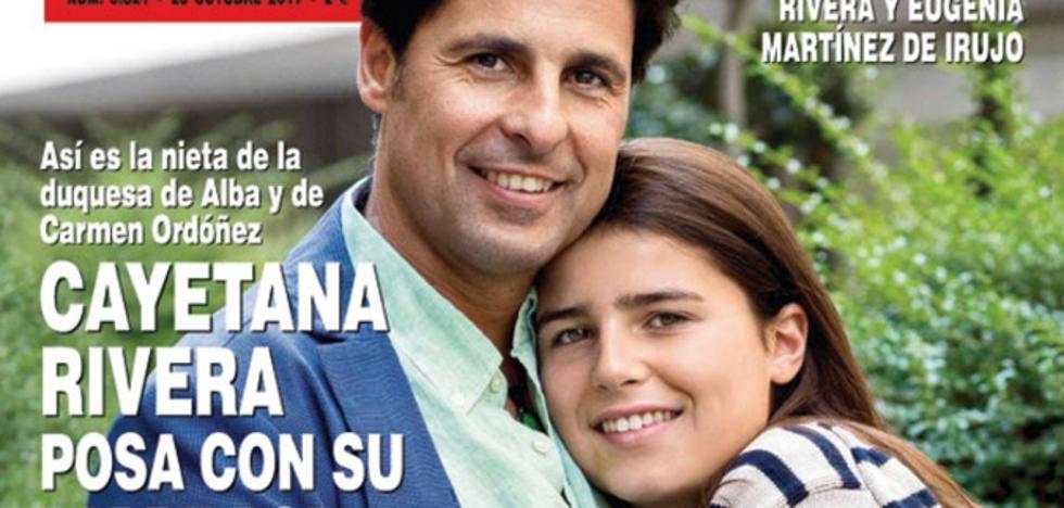 Cayetana Rivera da la cara en las revistas