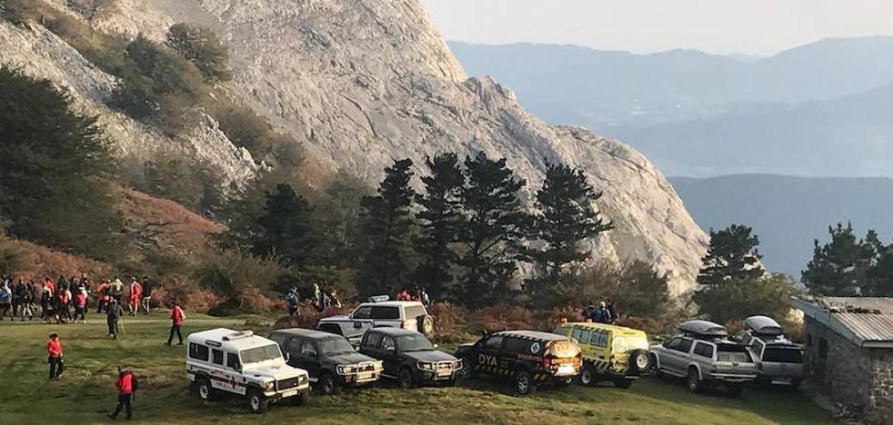 Suspenden la búsqueda del vecino de Arrasate desaparecido el pasado jueves