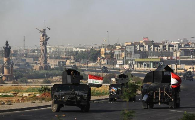 Irak arrebata a los kurdos la ciudad de Kirkuk e importantes infraestructuras