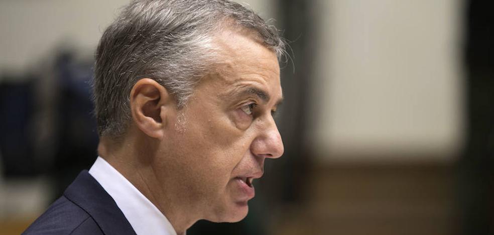 Gobierno Vasco y PNV instan a apurar el diálogo y rechazan los encarcelamientos